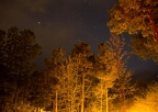 Night-time time exposure; Lowell Observatory, Flagstaff AZ