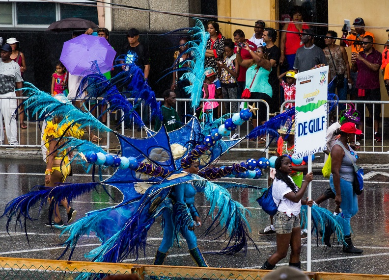 2017 Trinidad Carnival Tuesday, Soggy Mas